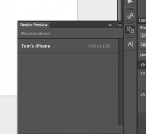 Adobe device preview